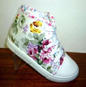 Модные детские кеды - цветные сникерсы для девочки на сайте обуви